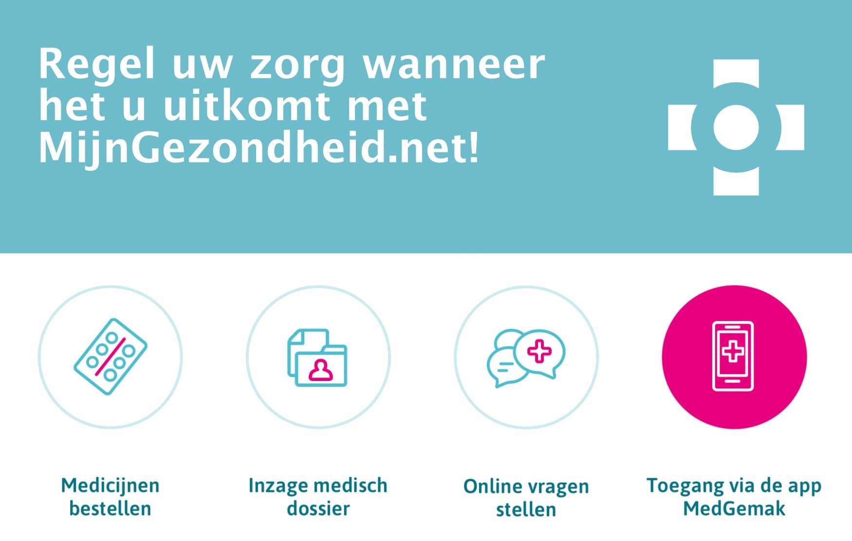 Meer informatie over MijnGezondheid.net